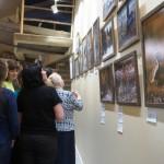 На фотовыставке Птицы тайги.
