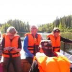Путешествие по озеру Паанаярви