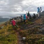 На горе Кивакка