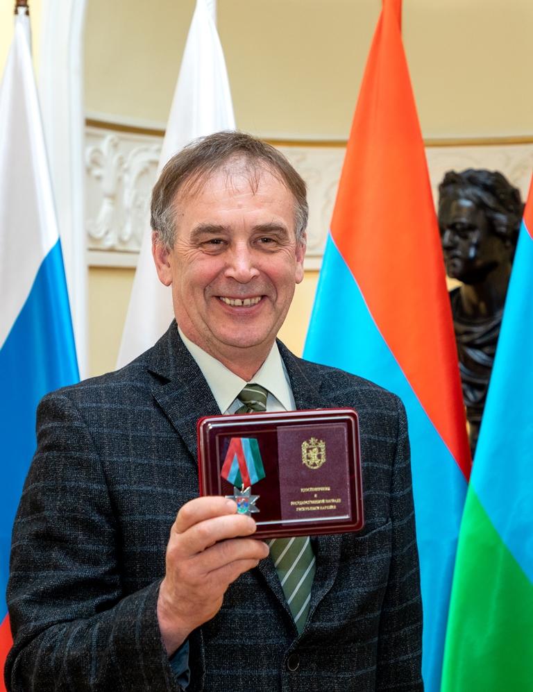 17.06.2019, Медаль за заслуги перед РК