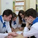 Команда Энгозерской школы