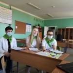 Команда Лоухской школы