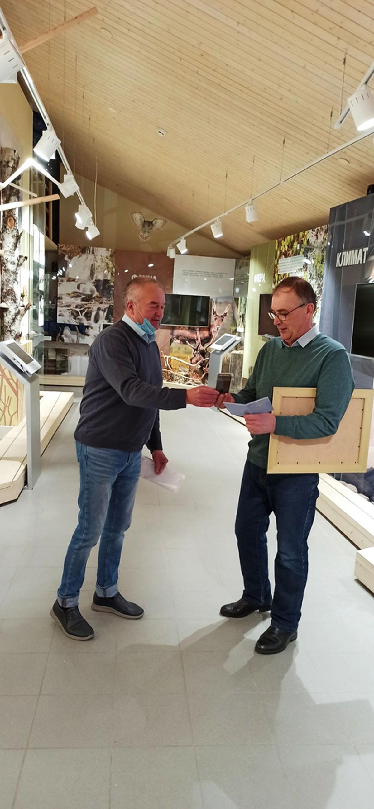Александр Владимирович Бижон награждён Почётным знаком «За заслуги перед муниципальным образованием «Лоухский район»