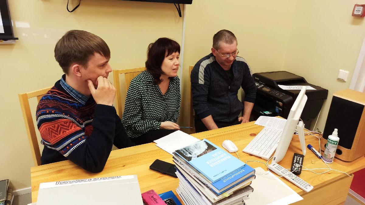 Встреча с коллегами из ФГБУ национальный парк «Водлозерский»
