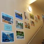 Выставка работ юных художников